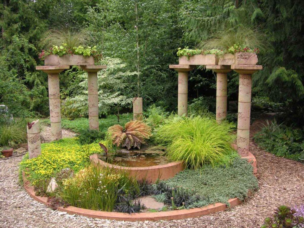 Архитектурные формы в ландшафтном дизайне